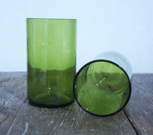 recycled bottle glasses