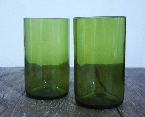 glass bottle tumbler glass