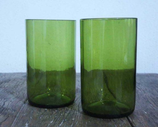 glass bottle tumbler glass