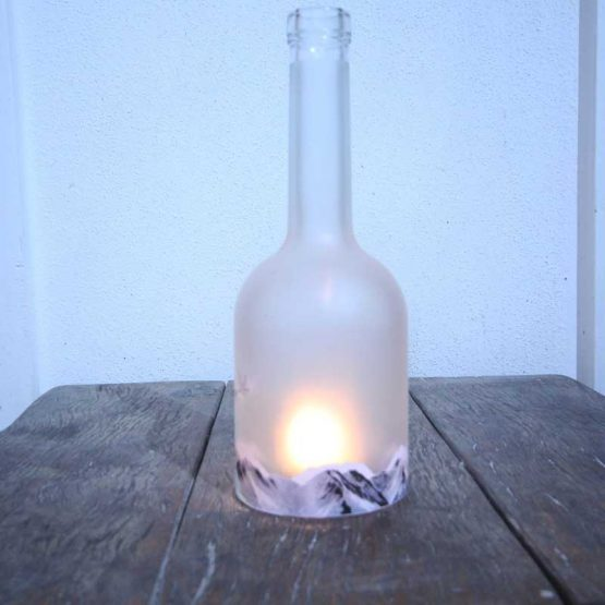 recycled candle holder
