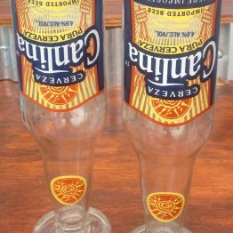 glass bottle cantina glasses